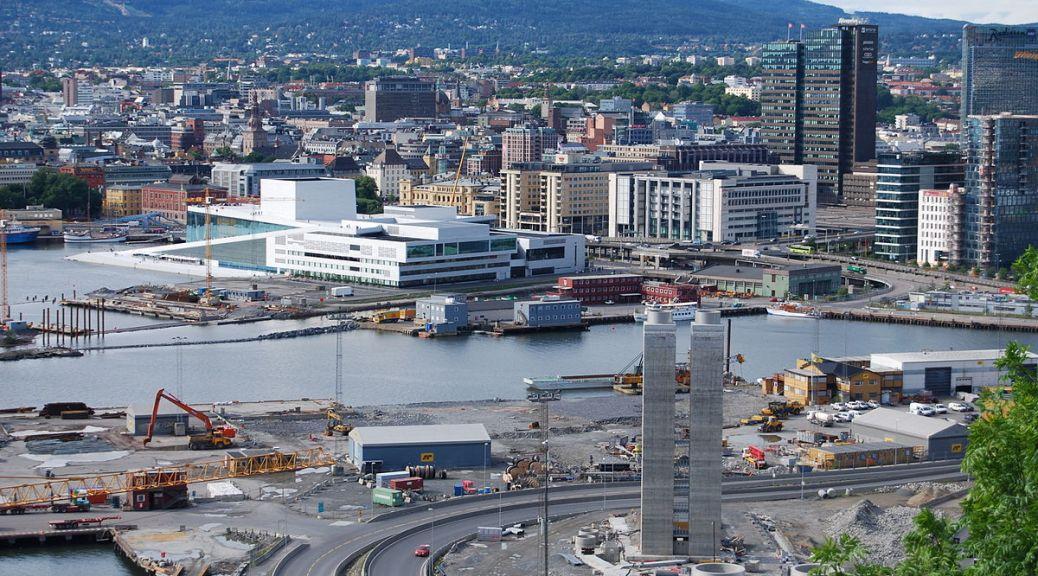 Overblikk over Oslo sentrum